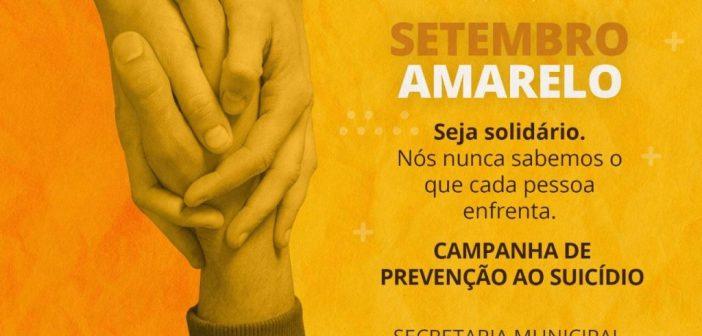 Campanha de prevenção ao suicídio