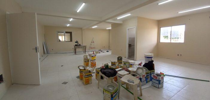 As obras do novo centro administrativo estão a todo vapor