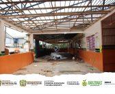 A Prefeitura de Rio Preto da Eva em parceria com a SEDUC, está executando o serviço de reforma e ampliação de escolas municipais