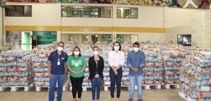 Rio Preto da Eva recebe mais de 1,5 mil cestas doadas pelo SESC para o Programa Brasil Fraterno