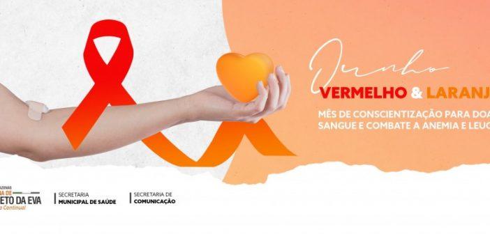 Campanha em prol da doação de sangue e conscientização da anemia e leucemia