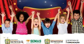 Hoje teremos circo de graça para cerca de 400 pais e filhos através do  Programa Criança Feliz no Circo
