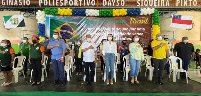 Momento cívico e simbólico da Semana da Pátria e aniversário do Amazonas