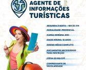 O Curso de formação de Agente de Informações Turísticas é totalmente gratuito e tem vagas limitadas